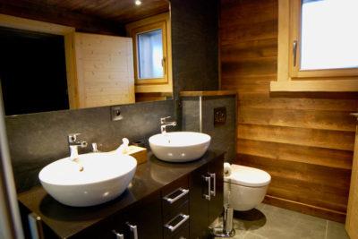 Salle de bain, chalet Winterfell Morzine